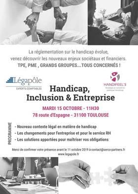 Evénement Handicap, Inclusion et Entreprise