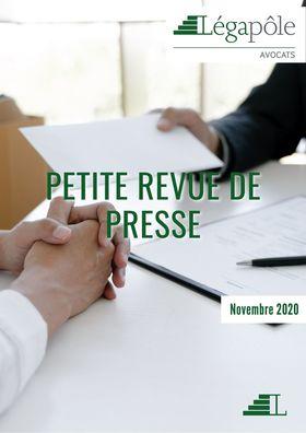 Petite revue de presse - Janvier 2021
