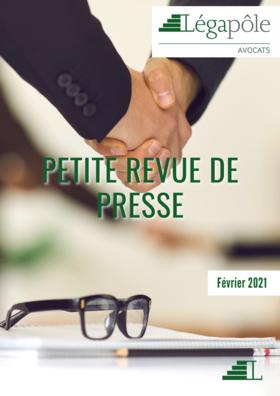 Petite revue de presse - Février 2021