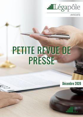 Petite revue de presse - Décembre 2020