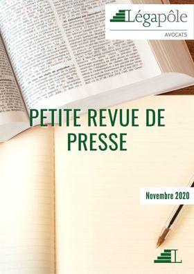 Petite revue de presse - Novembre 2021