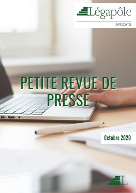 Petite revue de presse - Octobre 2020